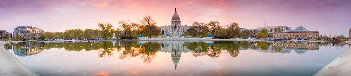 BUS-NY-SUED Panorama of The United States Capitol building in Washington DC  sunrise 139638041