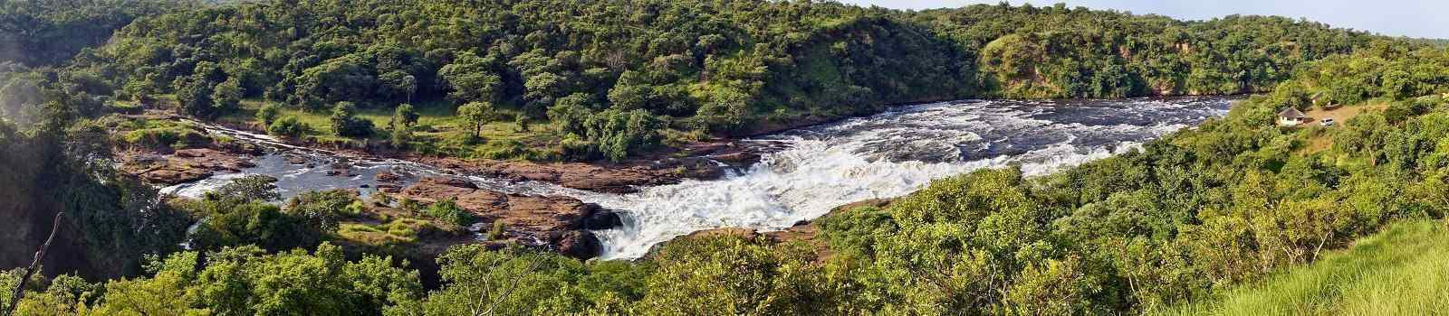 CAD-MT-COUNTRY Panorama of Murchison Falls on the Victoria Nile  Uganda 239252692