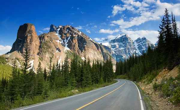 CAD-RM-FPW-LL Alberta Banff National Park Strasse 46772332