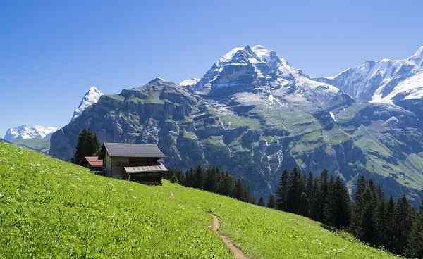 CH-SEEN-ROUTE The North Face trail  Jungfrau region  Switzerland shutterstock 491795842