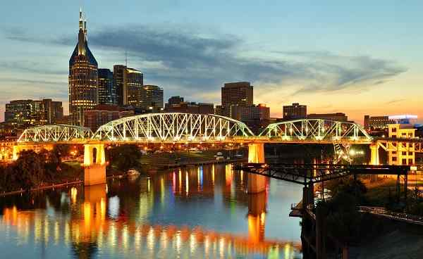 CMA-MUSIC-FESTIVAL Tennessee Nashville Skyline of downtown 143344555