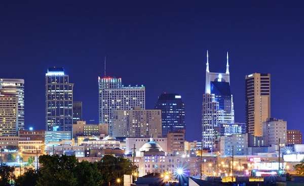 CMA-MUSIC-FESTIVAL Tennessee Nashville downtown Panorama 147552053