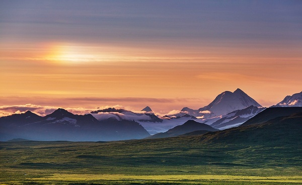 DENALI Mountains of Alaska in summer shutterstock 427249888