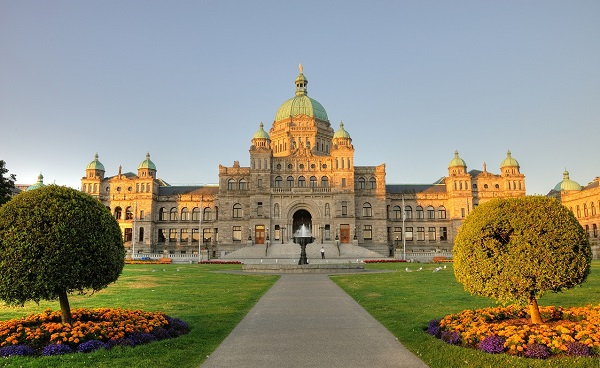 Kanada Victoria The historic british columbia province parliament building
