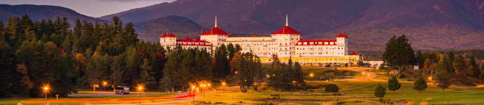 NEU-ENGLANDS-NORDEN  Hotel in Bretton Woods New Hampshire
