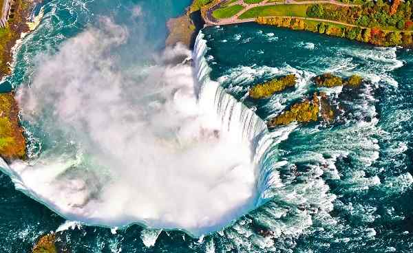 NEWYORK-NATUR NY Niagara Faelle Maid Of the Mist 128199443