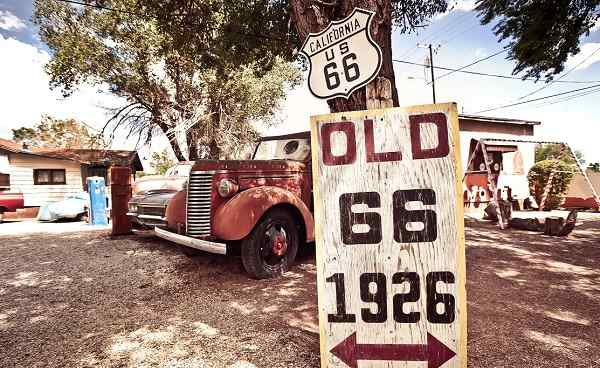 ROUTE-66 Old Signs