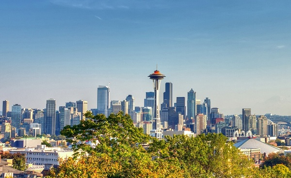 SEATTLE-SEA Seattle Skyline shutterstock 166343246