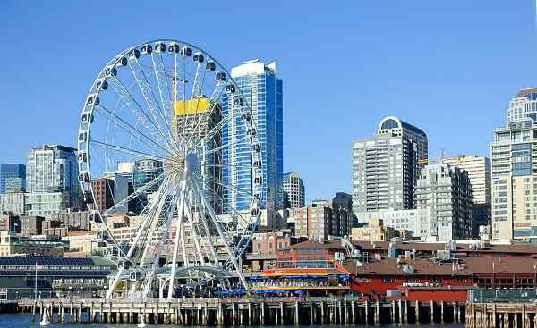SEATTLE-SEA Seattle Skyline shutterstock 636195344