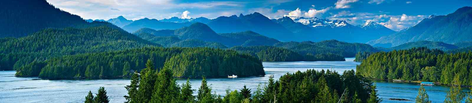 -Kanada Vancouver Island Panoramic view of Tofino